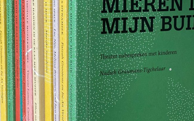 A SERIES OF 9 BOOKS FOR THE @KUNSTHOGESCHOOL OF #AMSTERDAM